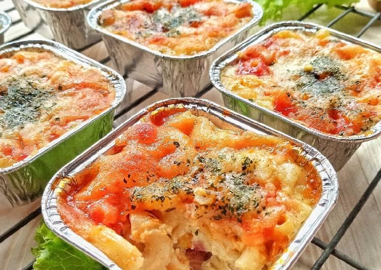 Resep Baked macaroni / schotel macaroni