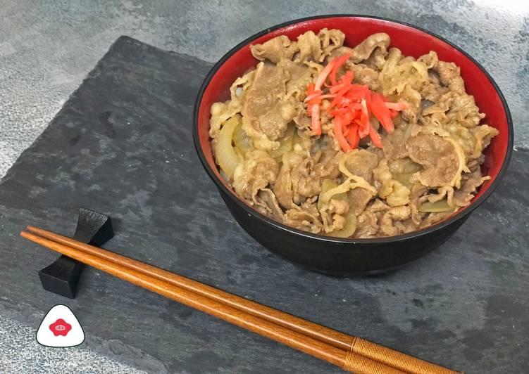 Resep Beef Bowl ala Yoshinoya ()