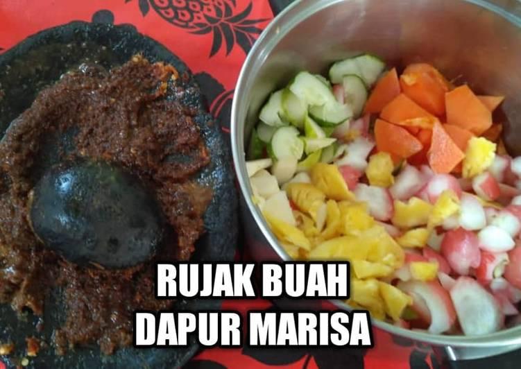 Resep RESEP RUJAK BUAH - DAPUR MARISA