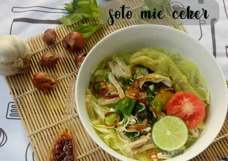 Resep Soto mie ceker