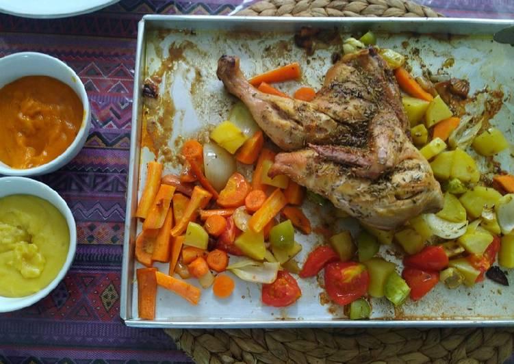 Resep Roasted chicken
