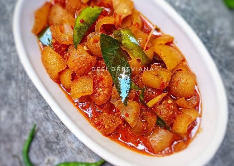 Resep Kikil sambalado