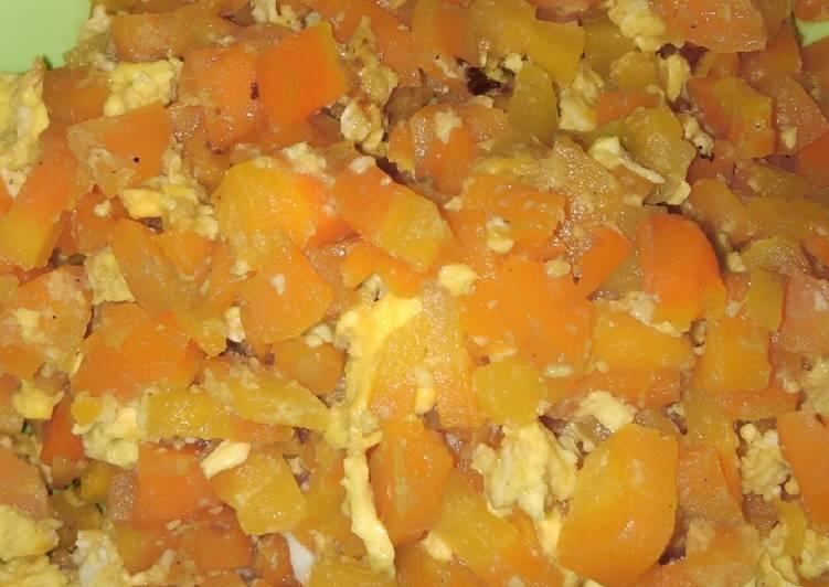 Resep Orak arik wortel