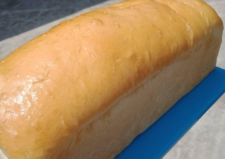 Resep Roti Tawar Homemade (tanpa telur tetep empuk)