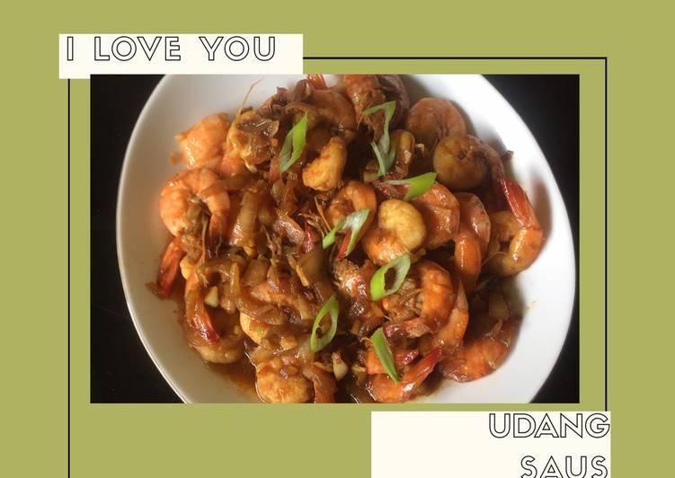 Resep Udang saus inggris