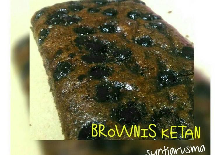 Resep Brownis Ketan Kukus