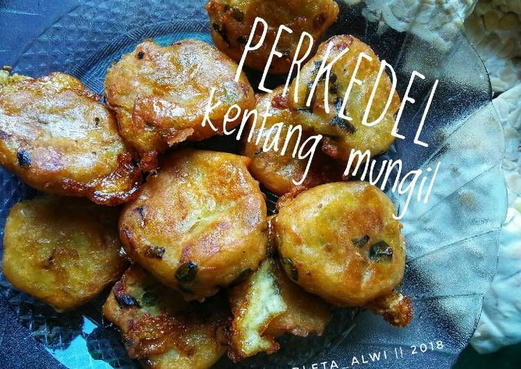 Resep Perkedel kentang mungil#pekaninspirasi