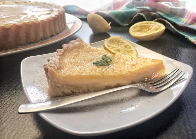 Resep Lemon Egg Tart