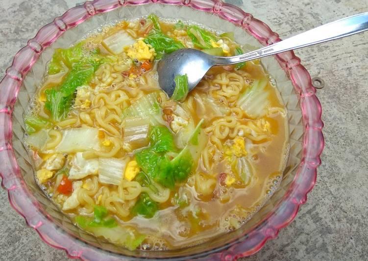 Resep Mi instan masak sehat