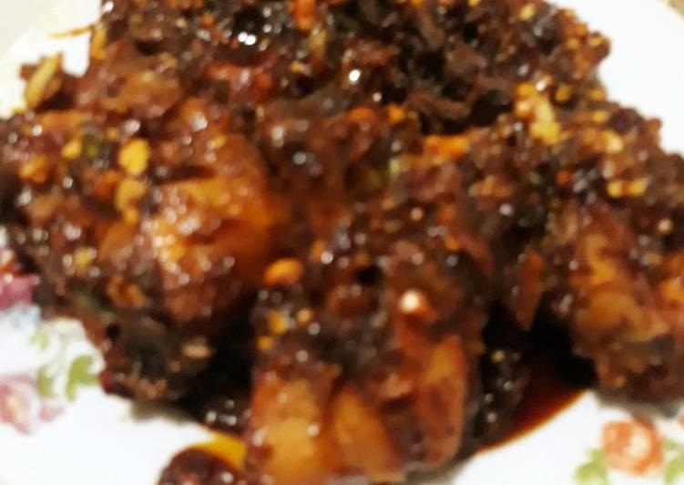 Resep Ayam kecap khas Palembang