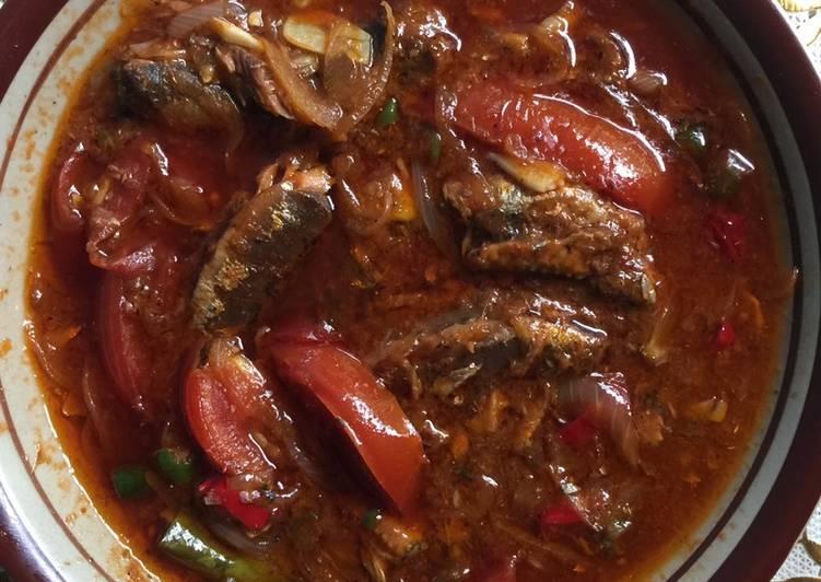 Resep Sarden Kaleng Tomat Pedas