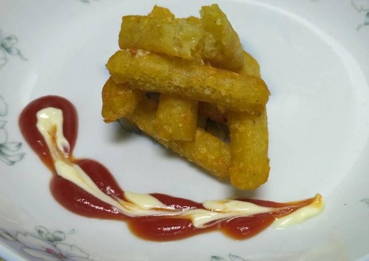 Resep Fried Mashed Potato