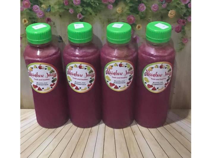 Resep Diet Juice Star Fruit Carrot Dragon Fruit Lime