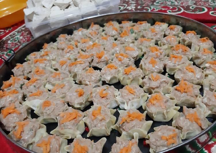 Resep Siomay Ayam Ikan Daging Basah dan Goreng