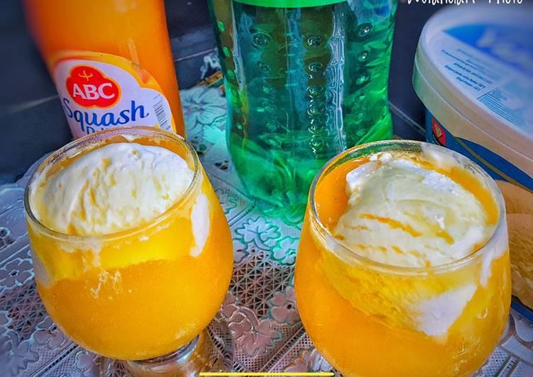 Resep Orange Float