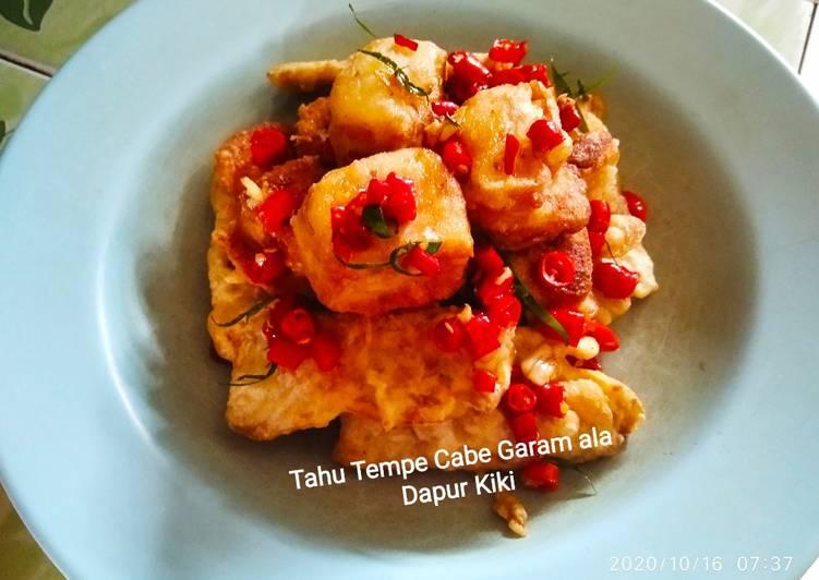 Resep Tahu Tempe Cabe Garam