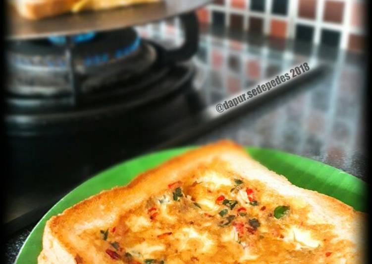 Resep Egg & Cheese Toast (mudah)