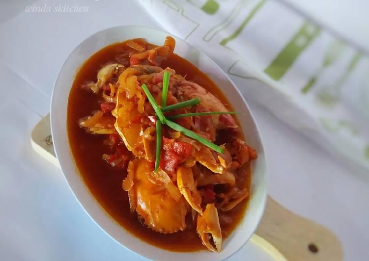Resep Kepiting saus setan