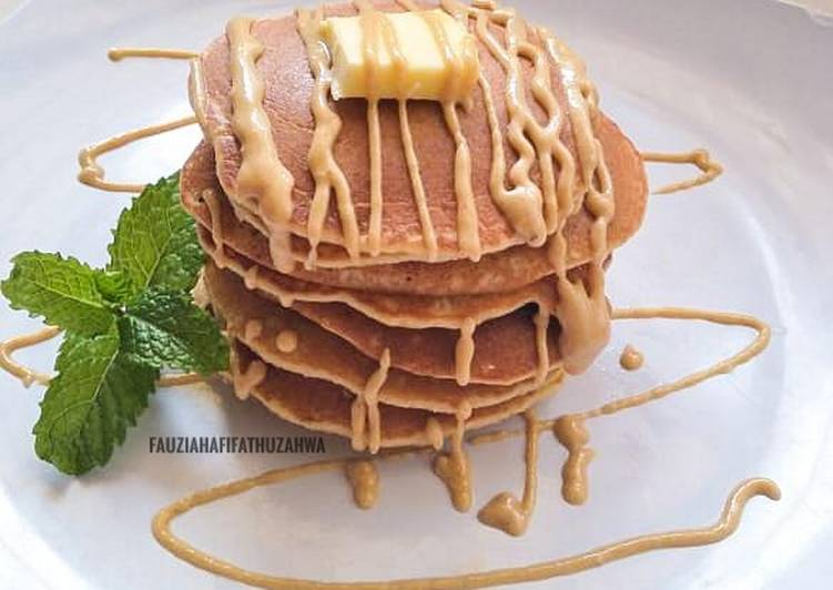 Resep Pancake Kacang Tanah