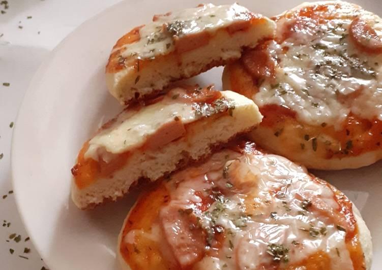 Resep Donat & pizza mini autolysis
