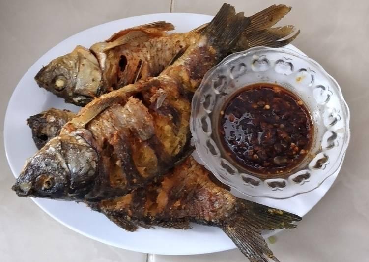 Resep Ikan Mas Goreng Bumbu Ketumbar