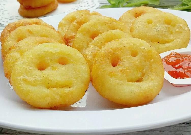 Resep Smiley Potato
