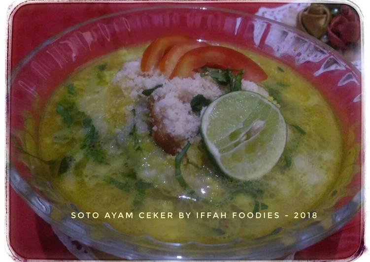 Resep Soto Ayam Ceker