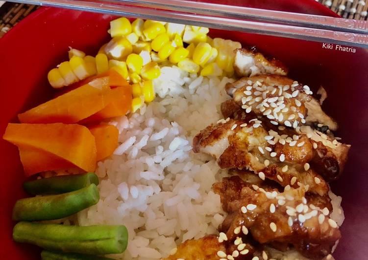 Resep Chicken Teriyaki Rice Bowl Simple