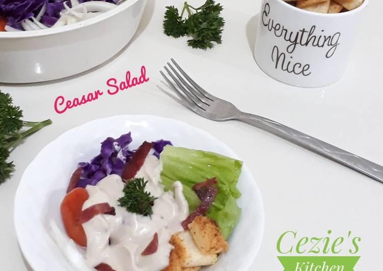 Resep Caesar salad