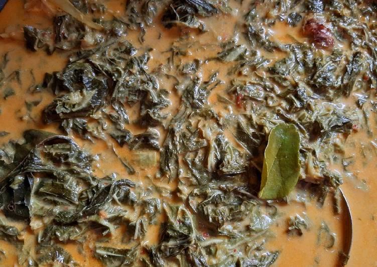 Resep Gulai daun singkong #17