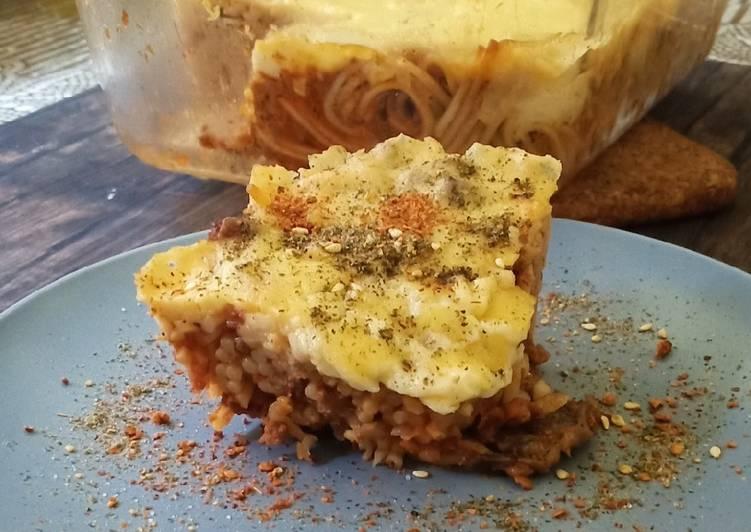 Resep Baked Spagheti