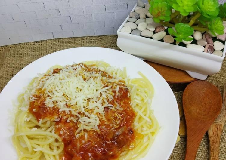 Resep Spaghetti Sauce Bolognese