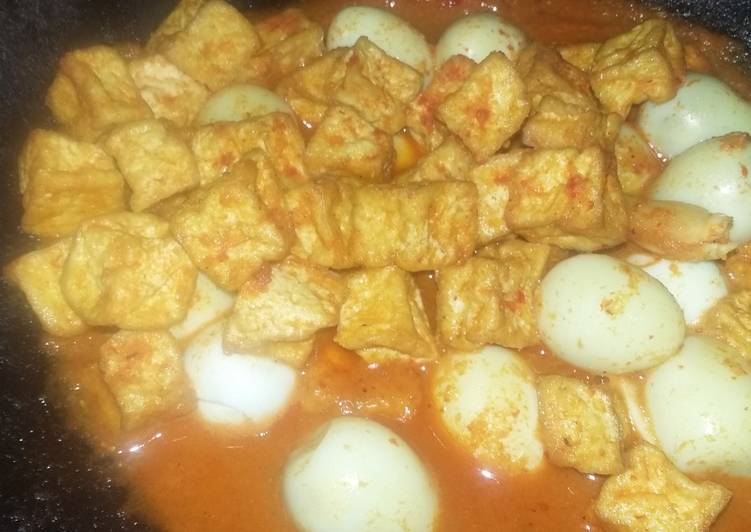 Resep Sambel goreng T2 (Tahu telur)