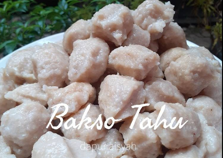 Resep Bakso Tahu