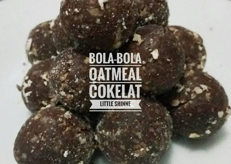 Resep Bola-bola Oatmeal Cokelat