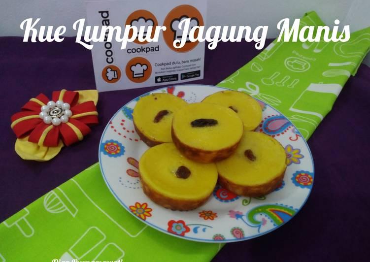Resep Kue Lumpur Jagung Manis
