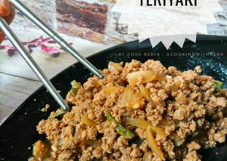 Resep Beef Teriyaki Saus Homemade