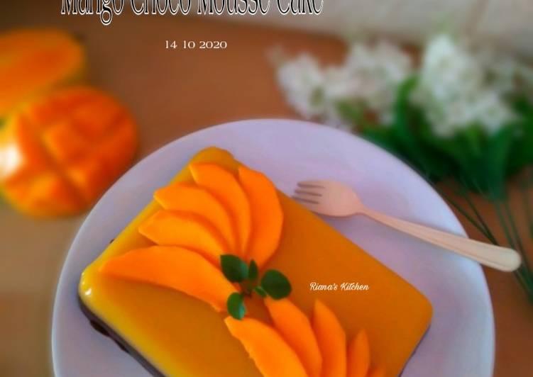Resep #Mango Choco Mousse Cake