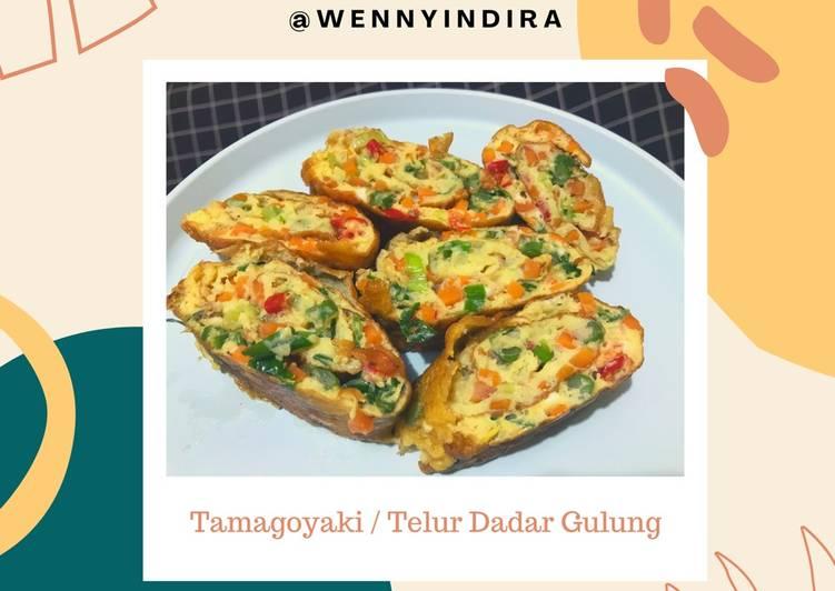 Resep [Tamagoyaki / Telur Dadar Gulung