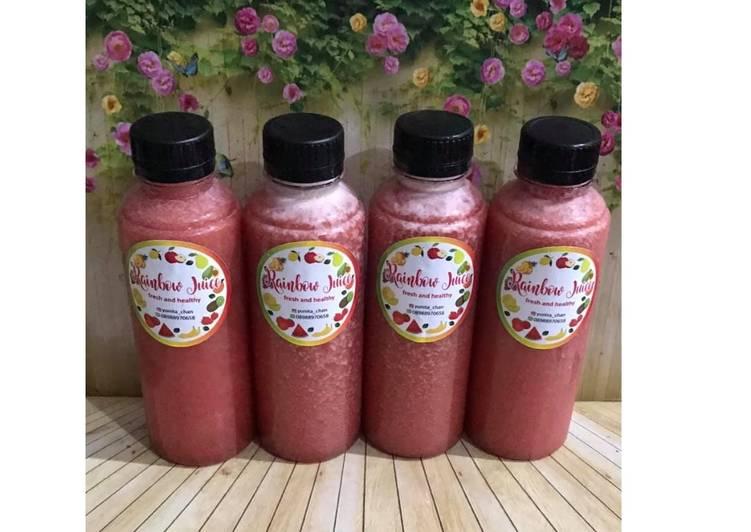 Resep Diet Juice Tamarillo Guava Pineapple Orange