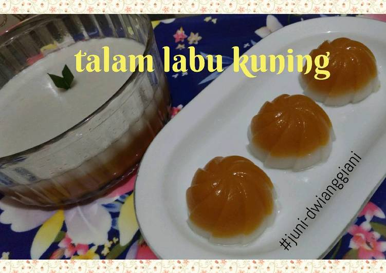 Resep Talam Labu Kuning