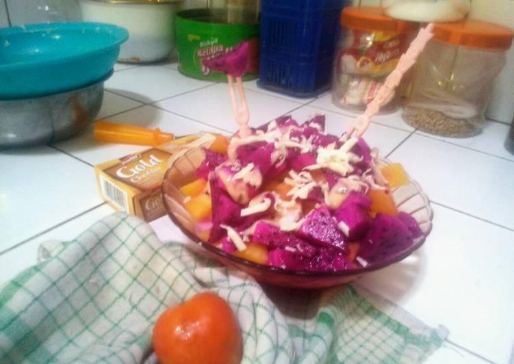 Resep Salad Buah Susu Keju
