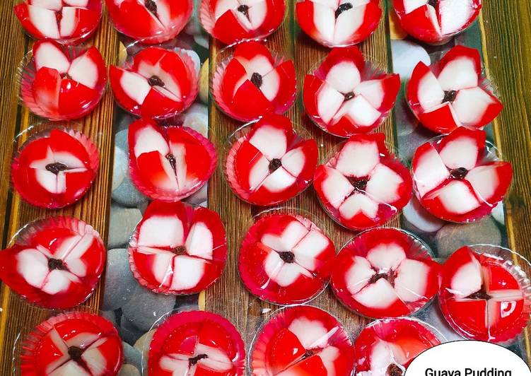 Resep Puding Jambu Merah