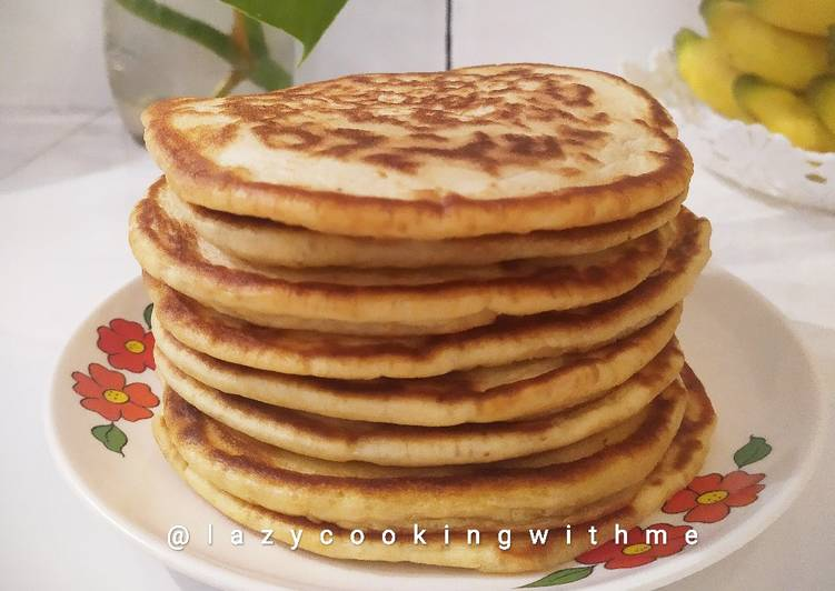 Resep Pancake (sourdough discard)