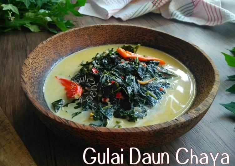 Resep Gulai Daun Chaya