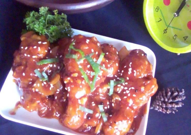 Resep Hot Spicy Chicken Legs