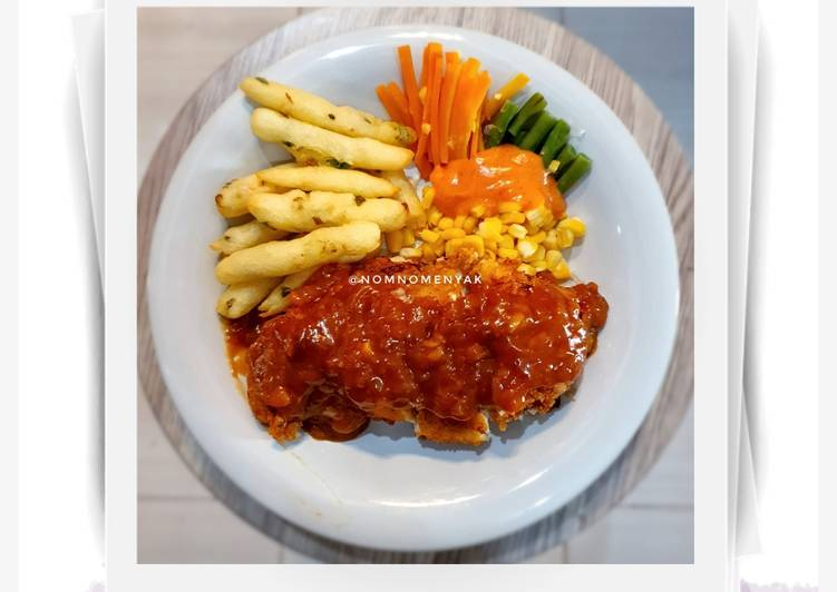 Resep Chicken Cordon Bleu ala Solaria