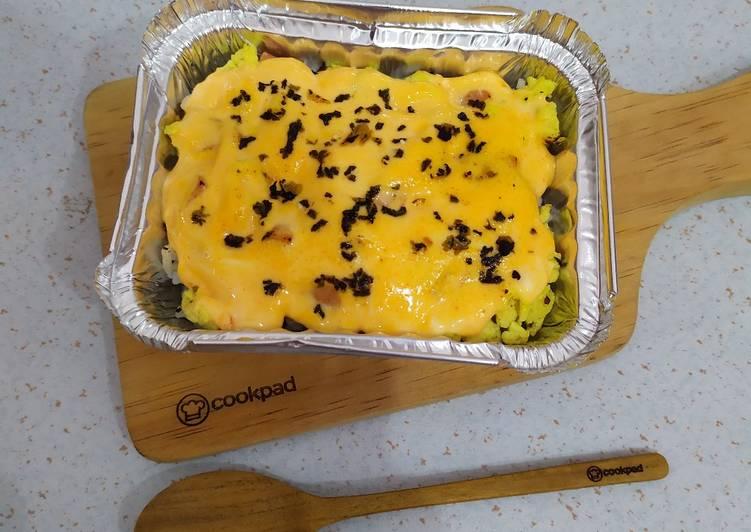Resep Egg Mentai Rice