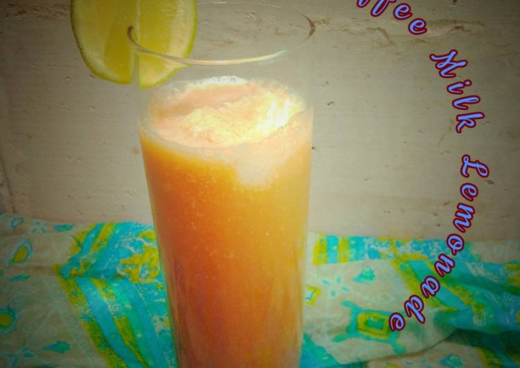 Resep Iced Coffee Milk Lemonade