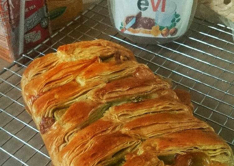Resep Choco Cheese pastry Bread
